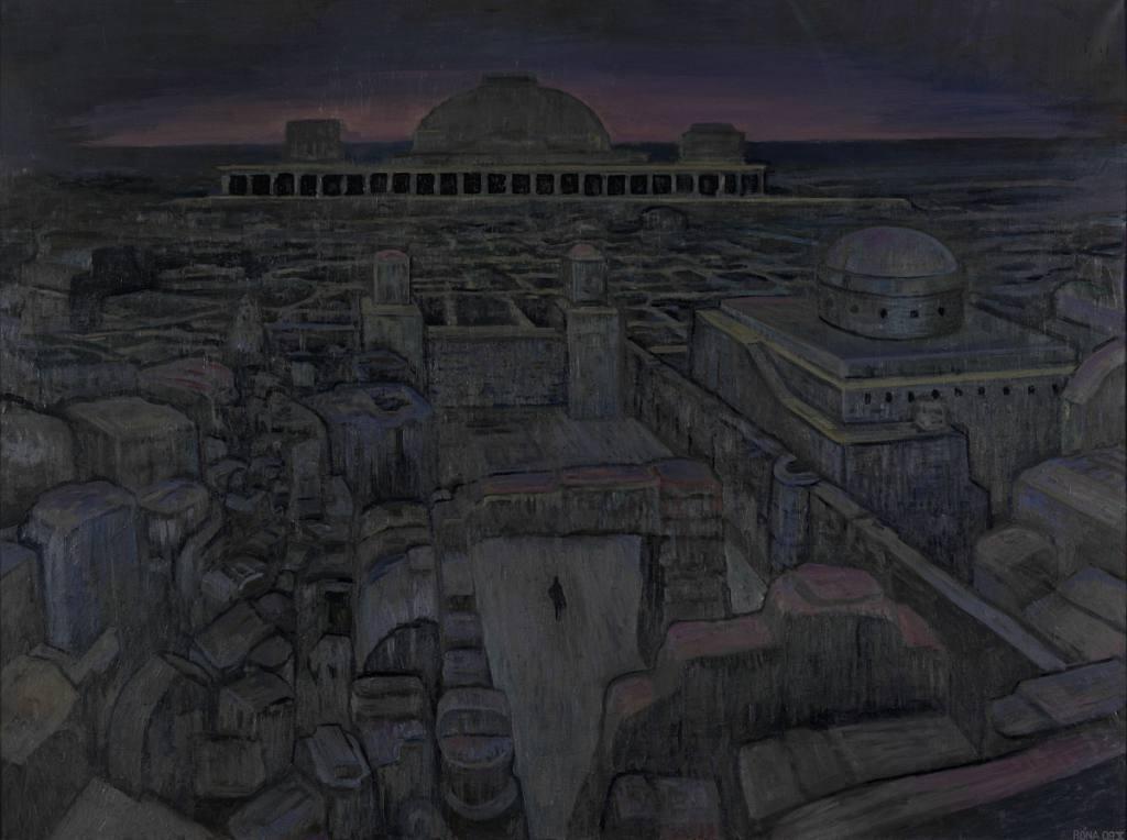 Opuštěné město