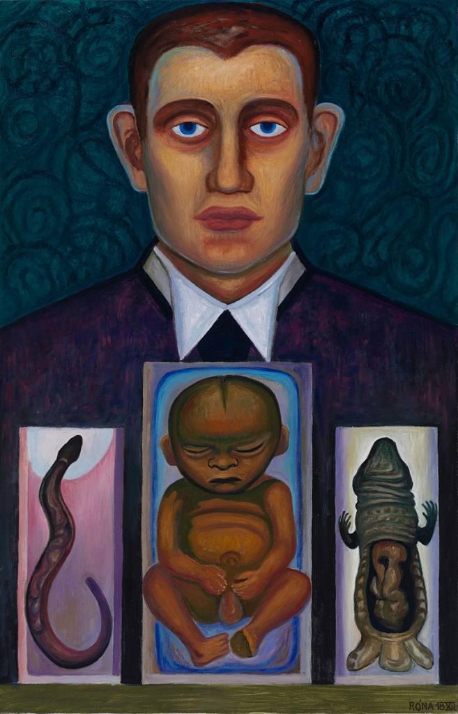 Portrét malíře Edwarda Muncha